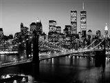 Brooklyn Bridge, NYC BW Art Print
