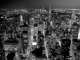 Midtown Manhattan at Night 2 Art Print