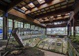 Abandoned Resort Pool, Upstate NY Art Print