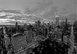 Chelsea and Midtown Manhattan Art Print