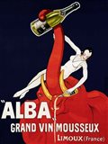 Alba Grand Vin Mousseux, ca. 1928 Art Print
