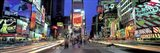 Times Square facing North, NYC Art Print