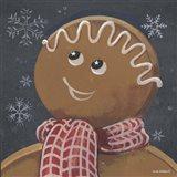 Gingerbread Cookie Art Print