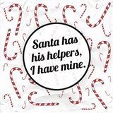 Santa's Helpers Art Print
