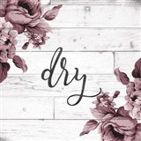 Dry Script Art Print