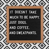 Dogs and Sweatpants Art Print