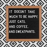 Cats and Sweatpants Art Print