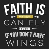 Faith Is Art Print