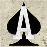 Ace of Spades Art Print