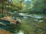 The Fly Fisherman Art Print