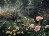 Rose Garden - Paradise Found Art Print