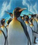 Penguin Paradise Art Print