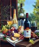 Still Life with Wines Art Print