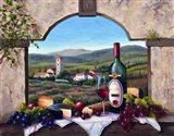 A Tuscany Vista Art Print