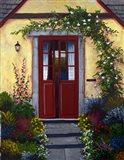Welcoming Doors Art Print