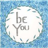 Be You Swirls Art Print