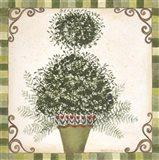 Topiary I Art Print