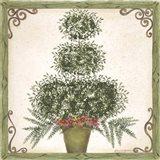 Topiary III Art Print
