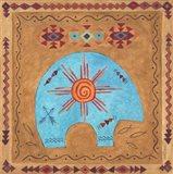 Desert Bear Art Print