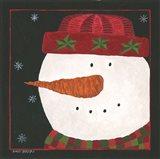 Snowman I Art Print