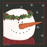 Snowman II Art Print