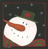 Snowman III Art Print