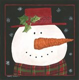 Snowman IV Art Print