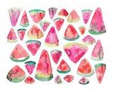 Watermelons 300 Art Print