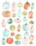 Light Pumpkins 300 Art Print