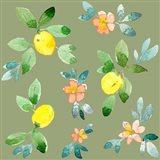 Lemons - Olive Art Print