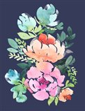 Floral I Dark Art Print