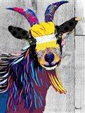 Billygoat II Art Print
