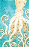 Octopus Up Art Print
