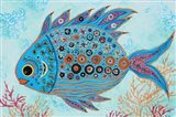 Lizzie - Diamond Back Water Fish Art Print