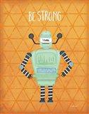 Strong Bot Art Print