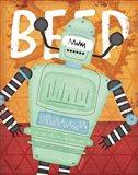Beep Bot Art Print