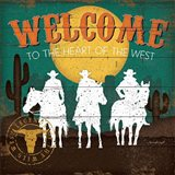 Welcome to the Heart of the West Art Print
