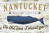 Nantucket Whaling Co. Art Print
