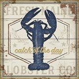 Fresh Maine Lobster Co. Art Print