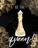 Be the Queen Art Print