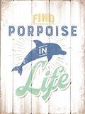 Porpoise Art Print