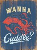 Wanna Cuddle Art Print