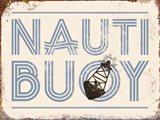 Nauti Buoy Art Print