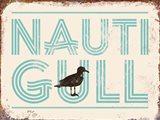 Nauti Gull Art Print