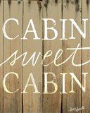 Cabin Sweet Cabin Art Print
