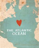 Atlantic Ocean Art Print