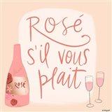 Rose s'il Vous Plait Art Print