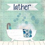 Lather Art Print