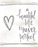 A Beautiful Life Art Print