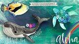 Hawaiian Sea Life Art Print